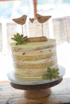 Naked Rustic Wedding Cake Eat Joe Toronto
