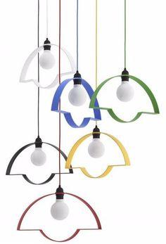 NOWA STOŁOWA Direct light aluminium ceiling #lamp by @tabanda