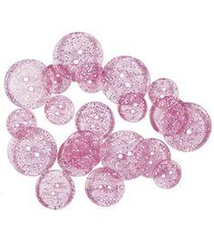 Blumenthal Lansing-Favorite Findings Glitter Buttons-Lavender Luster & theme & novelty buttons at Joann.com $2.29