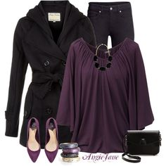 """""""Autumn Amethyst"""" by angiejane on Polyvore"""