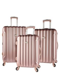OFFICIAL WEBSITE | Buy the kensie Expandable Luggage Collection - Rose Gold (KN-67903-RG) now from the official website. Free shipping over $99.