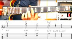 II V I guitar chord voicings taken from the printable PDF eBook (II V I voicings - 50 Exercises) Blues Guitar Chords, Guitar Chords Beginner, Guitar Chords For Songs, Music Chords, Guitar Sheet Music, Guitar Chord Chart, Ukulele, Jazz Chord Progressions, Jazz Guitar Lessons