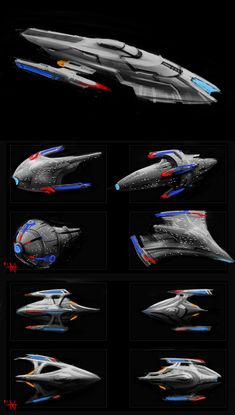possible star fleet ships? by mikemars on DeviantArt