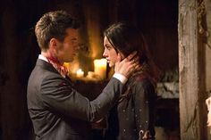 """The Originals -- """"From a Cradle to a Grave"""" -- Image Number: -- Pictured (L-R): Daniel Gillies as Elijah and Phoebe Tonkin as Hayley -- Photo: Bob Mahoney/The CW -- © 2014 The CW Network, LLC. All rights reserved. Originals Season 1, The Originals Tv, Charles Michael Davis, Vampire Diaries Spin Off, Vampire Diaries The Originals, Danielle Campbell, Daniel Gillies, Joseph Morgan, The Originals"""