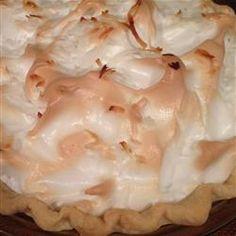 Mom's Chocolate Meringue Pie Allrecipes.com