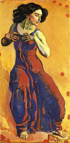 Ferdinand Hodler - Woman in Ecstasy (1911)