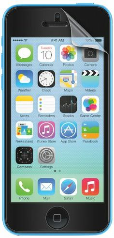 EMPIRE Premium CLEAR Screen Protectors for Apple iPhone 5C - 2 Pack
