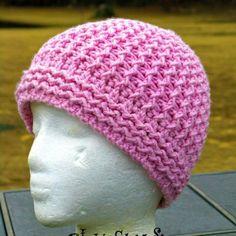 Just Groovin' Crochet Beanie