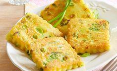 Kartoffelplätzchen mit Frühlingszwiebeln | Pfanni