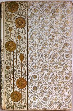Antique binding, Henry Wadsworth Longfellow poem, ca 1900