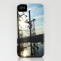 Wires iPhone Case by Josj
