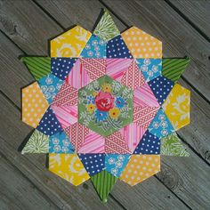 rose star block, though I know it as smoothing iron. A gorgeous one patch I have wanted to try for years now.