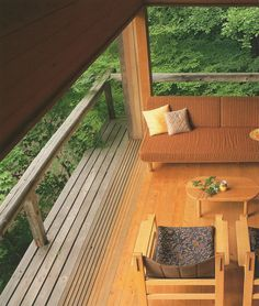 The mountain villa in Karuizawa|軽井沢の山荘 吉村順三