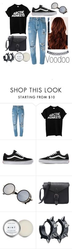 """""""Voodoo"""" by leonorgomes on Polyvore featuring Levi's, Vans, Herbivore and Wet Seal"""
