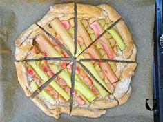 Rhabarber Pizza