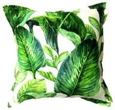 Browse a large selection of scatter cushions for home decorating, ranging from simple stripes, monochrome designs, to vibrant and colourful prints. Scatter Cushions, Throw Pillows, Leave Pattern, Jungle Art, Expo 2020, Cushions Online, Coastal Living, Monochrome, Plant Leaves