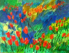 En la costa 2 - Pablo Goldenberg. Pintor y Artista Visual Chileno