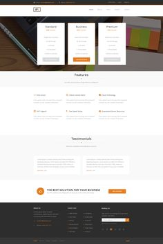 VPS Hosting Template by SlowlyDeath #webdesign