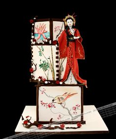 Asian Inspired Wedding Cake