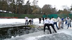 Part 8. How to make an ice hole.