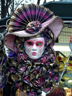 I have always had a love for harlequin and venetian masks.