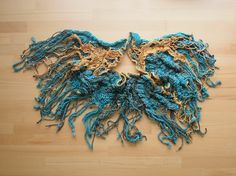 Fromy my Loom - Golden Nets scarf | Sylva Antony Čekalová