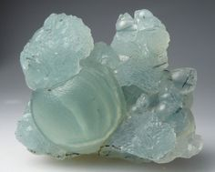 Prehnite with Tourmaline inclusions | ©Geologic Desires Bendoukou, Sandare District, Kayes Region, Mali.