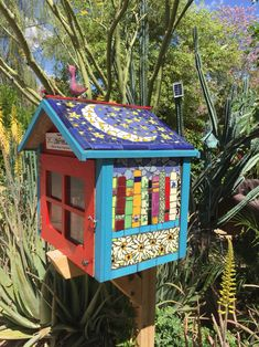My little free library - Jan Ghilain 3/31/16