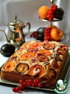 Быстрый летний пирог