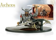 NobleWares Image of Archeros Fantasy Knife KR0015A Limited Edition by Kit Rae…