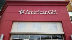 At American Girl Brand Doll Houston Store today for Tenny Release.