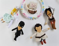 The Princess Bride Baby Mobile //  A mobile for parents who want their babies to believe in true love by PinkCheeksStudios on Etsy