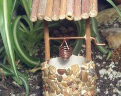 Fairy Garden Miniature Wishing Well Dollhouse