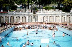 Gellert Spa, Budapest, by Elsa Billgren