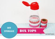diy storage box tops