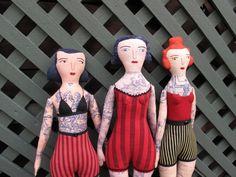 bonecas tatuadas.