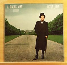 ELTON JOHN A Single Man Vinyl LP Song for Guy Return to Paradise Georgia Reverie
