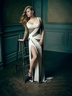 Amy Adams | Mark Seliger's Vanity Fair Oscar Party Portrait Studio