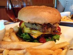 This is a bizarre burger experience: the 4 buck cheeseburger at NAAN