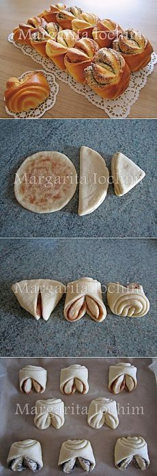 Love the idea of making a simp Bread Recipes, Cooking Recipes, Bread Shaping, Bread Art, Bread And Pastries, Russian Recipes, Artisan Bread, Bread Rolls, Sweet Bread