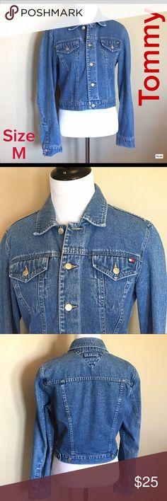 Vintage Tommy Jeans Denim Jacket Size M Excellent Condition! Tommy Hilfiger Jackets & Coats Jean Jackets