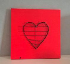 Quadro decorativo cuore decorazione Amre non Corrisposto Unrequited Love di Manoico su Etsy