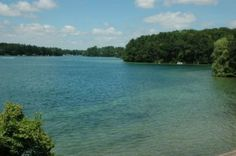 clear waters of the chain o' lakes in beautiful Waupaca, WI