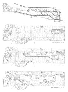 Zespół domów w układzie pasmowo-szeregowym. Projekt: Karolina Chodura, WA Politechniki Śląskiej House Architecture, Home Architecture