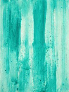 Abstract Art Original Decorative Painting Aqua Passion By Madart Painting - Abstract Art Original Decorative Painting Aqua Passion By Madart Fine Art Print