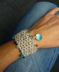 * Häkelarmbändchen * von crochet.jewels auf DaWanda.com