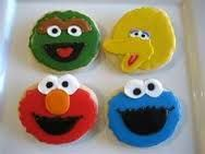 Image result for sesame street cookies