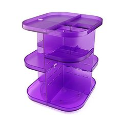 New Acrylic Kosmetik-Organizer Make Up Sortierkasten Organizer 360-Grad-Drehung Violett Koopower http://www.amazon.de/dp/B00QBZXA00/ref=cm_sw_r_pi_dp_Ak3Gvb0EYSGYQ