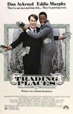 Trading Places (1983) Original One-Sheet Movie Poster
