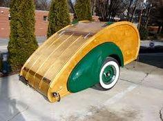 Cool vintage teardrop trailer